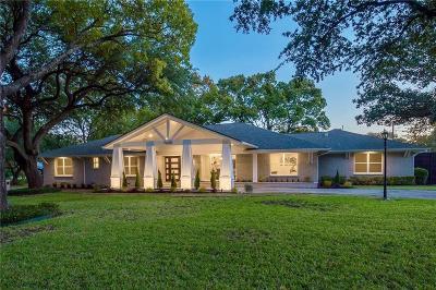Dallas Single Family Home For Sale: 7630 Oakbluff Drive