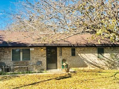 Stephenville Single Family Home For Sale: 1205 W Cage Street