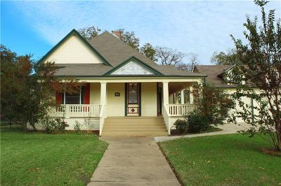 Sherman Single Family Home For Sale: 1511 S Travis