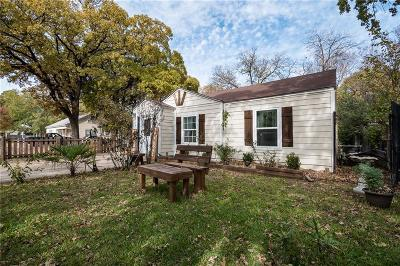 Haltom City Single Family Home Active Option Contract: 4313 McNutt Street
