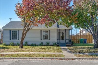 McKinney Single Family Home For Sale: 1600 Carrington Street