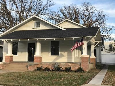 Fort Worth Single Family Home For Sale: 1933 Fairmount Avenue