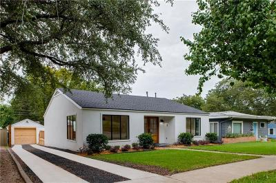 Fort Worth Single Family Home For Sale: 4004 Bryce Avenue