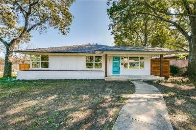 Dallas Single Family Home For Sale: 604 Woolsey Drive