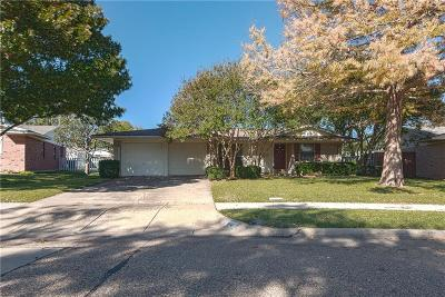 Richardson Single Family Home Active Option Contract: 814 Wisteria Way