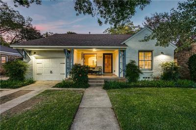 Dallas Single Family Home For Sale: 1123 Pioneer Drive