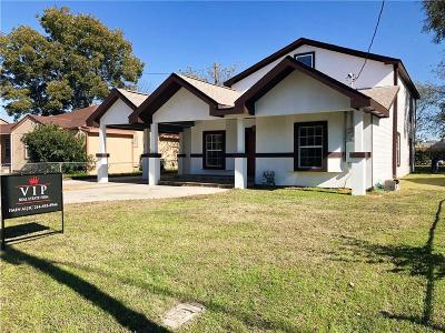 Irving Single Family Home For Sale: 1000 English Street