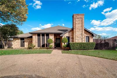 Dallas Single Family Home For Sale: 5250 Freestone Circle