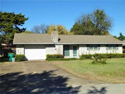 Cedar Hill Single Family Home Active Option Contract: 818 Dogwood Drive