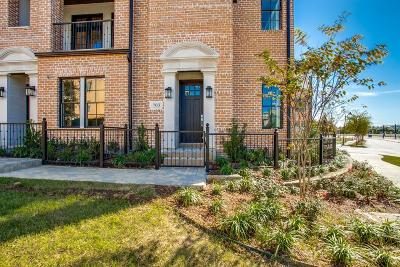 Irving Townhouse For Sale: 703 Will Rice Avenue