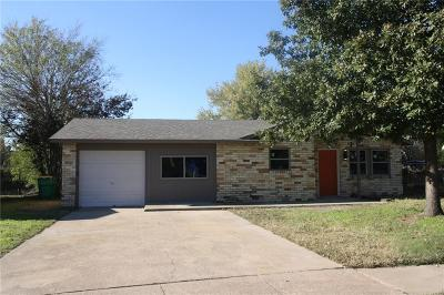 Cedar Hill Single Family Home Active Option Contract: 819 Lisa Lane