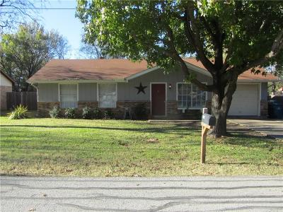 Seagoville Single Family Home Active Option Contract: 110 W Adkins Street
