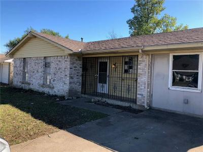Dallas Single Family Home For Sale: 3628 Softcloud Drive