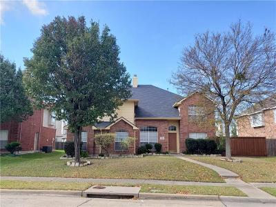 Allen TX Single Family Home For Sale: $329,000