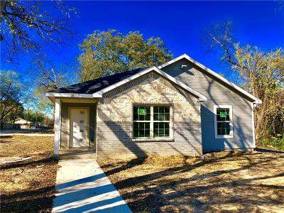 Dallas Single Family Home For Sale: 1603 E Overton Road