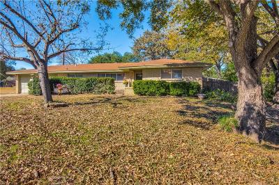 Bedford, Euless, Hurst Single Family Home Active Contingent: 604 Cullum Avenue