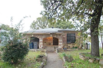 Dallas Single Family Home For Sale: 2507 Volga Avenue