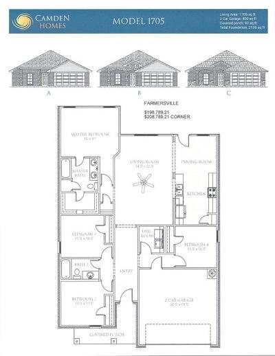 Farmersville Single Family Home For Sale: 116 Harvard Boulevard
