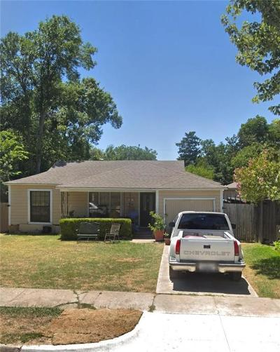 Dallas Single Family Home For Sale: 8419 Craighill Avenue