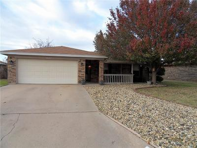 Abilene Single Family Home For Sale: 4002 Sera Drive
