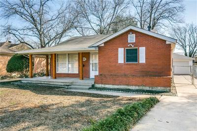 Dallas Single Family Home For Sale: 2914 San Paula Avenue