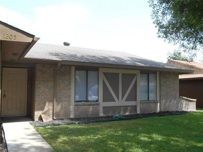 Garland Residential Lease For Lease: 1205 White Oak