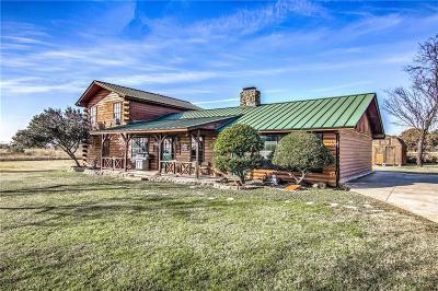 Joshua Single Family Home For Sale: 2504 Mountain View Road