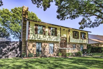 Carrollton Single Family Home For Sale: 3829 Westminster Drive