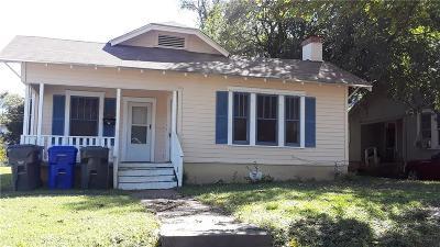 Waco Single Family Home For Sale: 1604 Live Oak