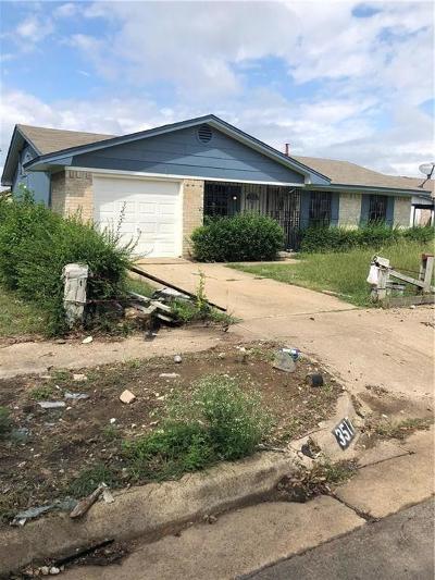 Dallas Single Family Home For Sale: 3517 Judge Dupree Drive