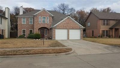 Euless Single Family Home For Sale: 1213 Jamestown Court