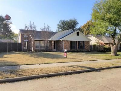 Allen Single Family Home For Sale: 546 N Freestone Drive