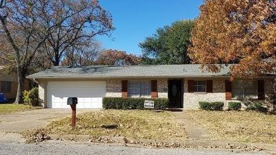 Canton TX Single Family Home For Sale: $145,000