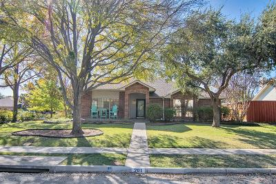 Coppell Single Family Home For Sale: 201 River Road