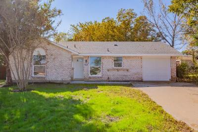 Mesquite Single Family Home For Sale: 2614 Whippoorwill Drive