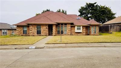 Desoto Single Family Home For Sale: 617 Dartbrook Drive