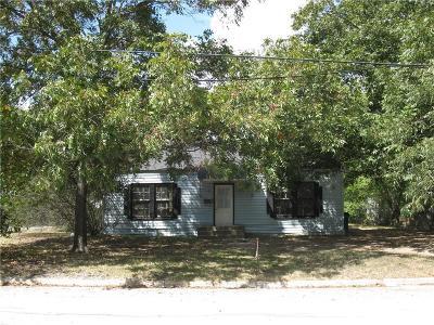 Corsicana Single Family Home For Sale: 1418 W Park Avenue