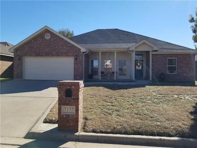 Abilene Single Family Home For Sale: 2133 Plymouth Rock Road