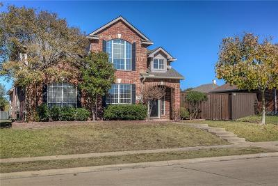 Rockwall Single Family Home For Sale: 2460 Fieldcrest Drive