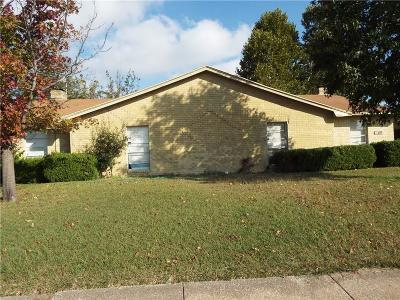 Garland Residential Lease For Lease: 2108 Sam Houston Drive