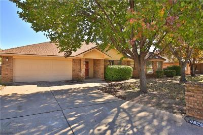 Abilene Single Family Home For Sale: 4825 Jennifer Lane