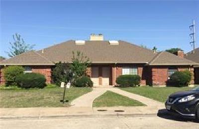 Dallas Half Duplex For Sale: 13316 Fall Manor Drive