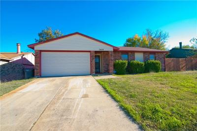Fort Worth Residential Lease For Lease: 7405 Marrs Drive