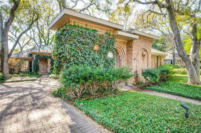 Dallas Single Family Home For Sale: 16032 Chalfont Circle