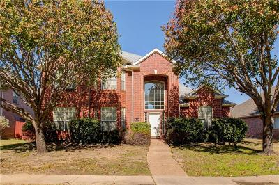 Coppell Single Family Home For Sale: 320 Waterview Drive