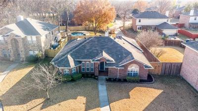 Allen Single Family Home Active Option Contract: 18 Monroe Court