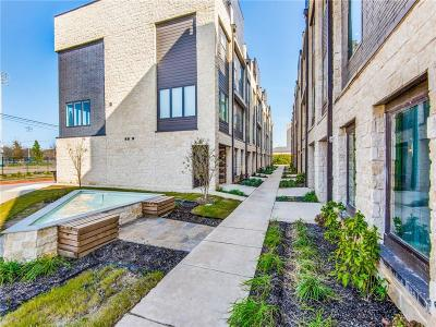 Farmers Branch Townhouse For Sale: 4060 Spring Valley Road #207