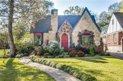 Dallas Single Family Home For Sale: 1111 Sarasota Circle