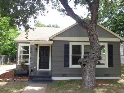 Brownwood Single Family Home For Sale: 1904 Vincent Street