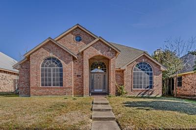 Cedar Hill Single Family Home Active Contingent: 1540 Tuley Street